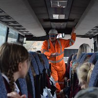 KS2 Trip to Callow Rock Quarry