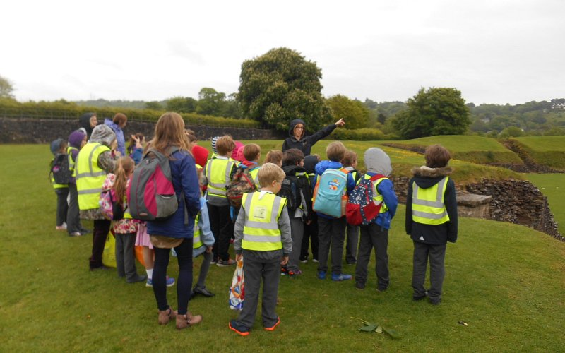 KS2 Trip to Caerleon